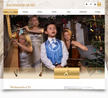 webdesign bachmayer music