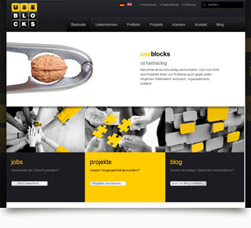 webdesign useblocks front
